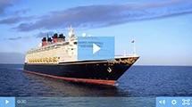 Aan boord van Disney Cruise Line