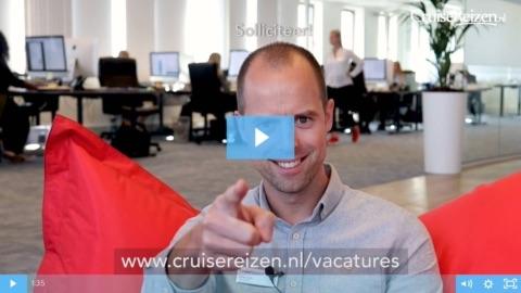 CruiseReizen.nl is op zoek naar nieuwe collega's!